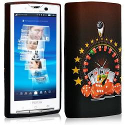 coque en gel pour Sony Ericsson Xperia X10 avec motifs