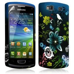 Housse étui coque en gel pour Samsung Wave 3 S8600 avec motif HF09