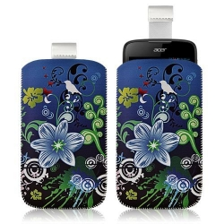 Housse Coque Étui Pochette pour Acer Liquid Gallant Duo avec motif HF09