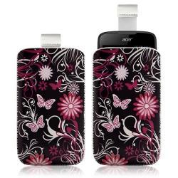 Housse Coque Étui Pochette pour Acer Liquid Gallant Duo avec motif HF13
