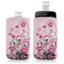 Housse Coque Étui Pochette pour Acer Liquid Gallant Duo avec motif HF17