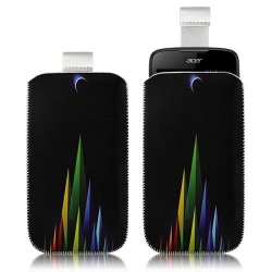 Housse Coque Étui Pochette pour Acer Liquid Gallant Duo avec motif LM02