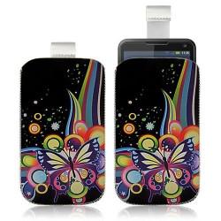 Housse Coque Étui Pochette pour Motorola Motoluxe avec motif HF05
