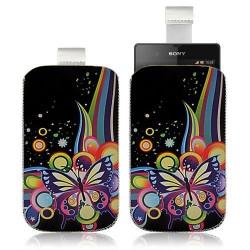 Housse Coque Étui Pochette pour Sony Xperia Z avec motif HF05