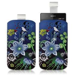 Housse Coque Étui Pochette pour Sony Xperia Z avec motif HF09