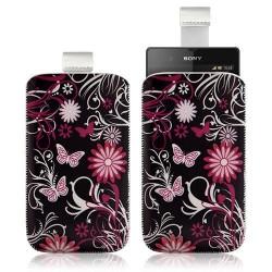 Housse Coque Étui Pochette pour Sony Xperia Z avec motif HF13