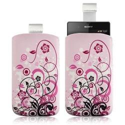Housse Coque Étui Pochette pour Sony Xperia Z avec motif HF17