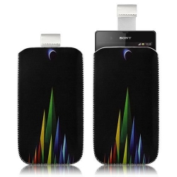 Housse Coque Étui Pochette pour Sony Xperia Z avec motif LM02