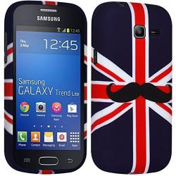 Coque Semi Rigide pour Samsung Galaxy Trend Lite ( s7390) KJ22 + Film