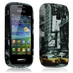 Housse Etui Coque en Gel pour Samsung Wave Y S5380 avec motif LM06