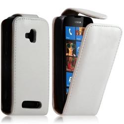 Housse coque étui pour Nokia Lumia 610 Couleur Blanc