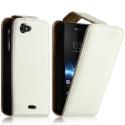 Housse coque étui pour Sony Xperia J Couleur Blanc