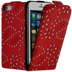 Housse Coque Etui Diamant pour apple Iphone 5 couleur