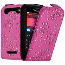 Housse Coque Etui de Protection Diamant pour Blackberry Curve 9360