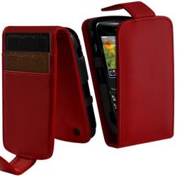 Housse Coque Etui Portefeuille Couleur pour Blackberry Curve 8520