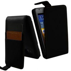 Housse Etui Portefeuille pour Samsung Galaxy S2 i9100 couleur
