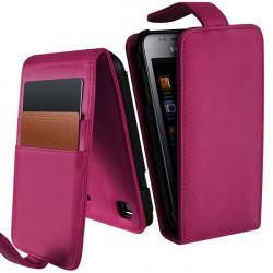 Housse Etui Portefeuille pour Samsung Galaxy S i9000 / i9003 couleur