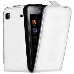 Housse Etui de Protection Couleur Blanc pour Samsung Galaxy S i9000