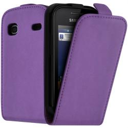 Housse coque étui pour Samsung Galaxy Gio S5660 Couleur Violet pale