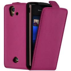 Housse Coque Etui pour Sony Ericsson Xperia Ray ST18i Couleur