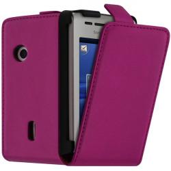 Housse Coque Etui pour Sony Ericsson Xperia X8 Couleur