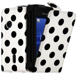 Housse Coque Etui à Poids pour Sony Ericsson Xperia X8 Couleur Blanc