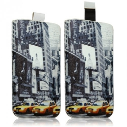 Housse Coque Etui Pochette pour Sony Xperia M / Xperia L / Xperia Z1 Compact avec motif LM06