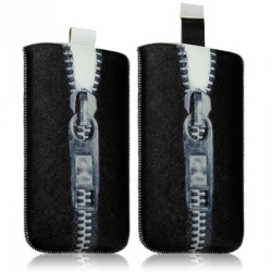 Housse Coque Etui Pochette pour Sony Xperia M / Xperia L / Xperia Z1 Compact avec motif LM07