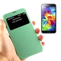 Etui de Protection Fenêtre S-view Couleur pour Samsung Galaxy S5 Mini