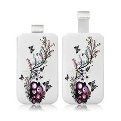 Housse Coque Etui Pochette pour Apple iPhone 5 / 5S / 5C / iPod Touch avec motif HF01