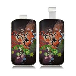 Housse Coque Etui Pochette pour BlackBerry Q5 / Q10 avec motif HF27