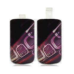 Housse Coque Etui Pochette pour Acer BeTouch E110 / E140 avec motif HF07