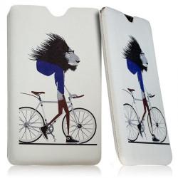 """Housse Etui Pochette Universelle avec Motif KJ06 pour Tablette Samsung Galaxy Tab 4 8"""""""