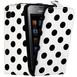Housse Etui de Protection à Poids pour Samsung Galaxy S i9003 couleur Blanc