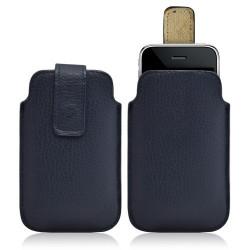 Housse coque étui pochette bleu pour Apple Iphone 3G/3GS