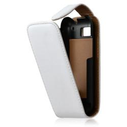 housse coque étui pour Motorola Defy couleur blanc nacré + Film protecteur