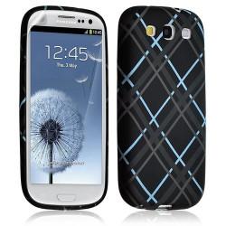 Housse coque étui gel pour Samsung Galaxy S3 motif HF23 + Film protecteur