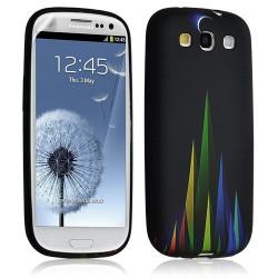Housse Coque Étui Gel Pour Samsung Galaxy S3 Motif Lm02 + Film Protecteur