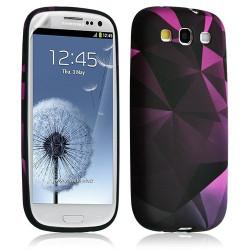 Housse Coque Étui Gel Pour Samsung Galaxy S3 Motif Lm03 + Film Protecteur