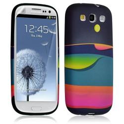 Housse Coque Étui Gel Pour Samsung Galaxy S3 Motif Lm04 + Film Protecteur