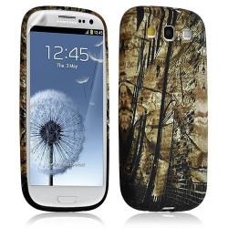 Housse Coque Étui Gel Pour Samsung Galaxy S3 Motif Lm10 + Film Protecteur