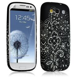 Housse Coque Étui Gel Pour Samsung Galaxy S3 Motif Lm11 + Film Protecteur