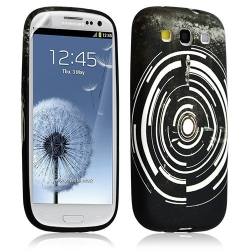 Housse Coque Étui Gel Pour Samsung Galaxy S3 Motif Lm13 + Film Protecteur