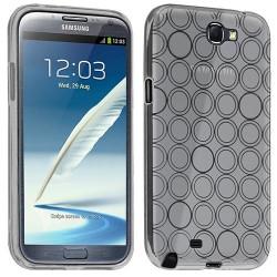 Housse étui coque Hydrogel transparent pour Samsung Galaxy Note 2 couleur Blanc