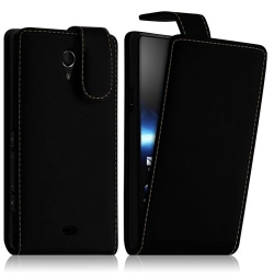 Housse coque étui pour Sony Xperia T couleur Noir