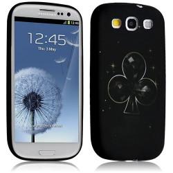Housse coque étui gel pour Samsung Galaxy S3 i9300 motif LM16