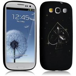 Housse coque étui gel pour Samsung Galaxy S3 i9300 motif LM15