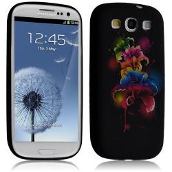 Housse coque étui gel pour Samsung Galaxy S3 i9300 motif HF35
