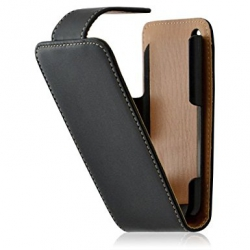 Etui pour Apple iphone 3G / 3GS couleur noir + Film protecteur