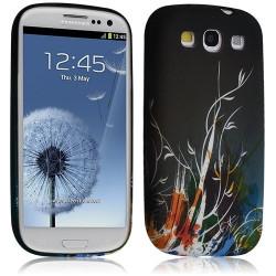 Housse coque étui gel pour Samsung Galaxy S3 i9300 motif HF34
